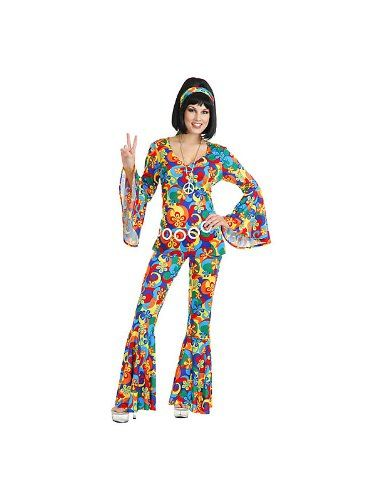 Womens Gold Gate Gal Costume M Charades   www/dp