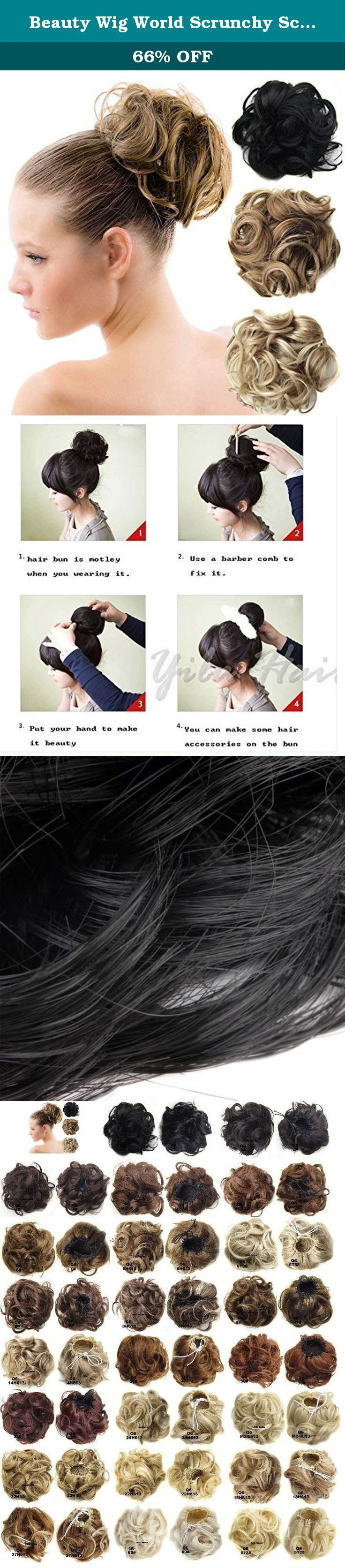 Beauty Wig World Scrunchy Scrunchie Bun Up Do Hairpiece Hair Ribbon Ponytail Ext... - Beauty Chat - Beauty Wig World Scrunchy Scrunchie Bun Up Do Hairpiece Hair Ribbon Ponytail Ext...        Beauty Wig World Scrunchy Scrunchie Bun Up Do Hairpiece Hair Ribbon Ponytail Extensions Wavy Curly or Messy Color(14H613#Light Blonde). Product Information Material:Heat-resistance Fringe. Net diameter:12CM Weight:60gr. Notice: Item color displayed in photos may be showing slightly different on your compute #curlyupdo
