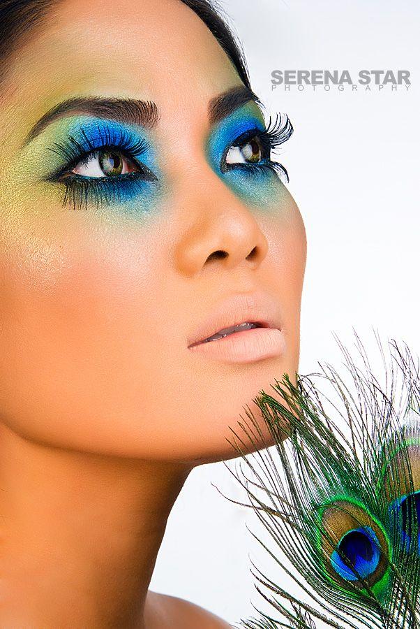 Peacock Eye Makeup, Fantasy