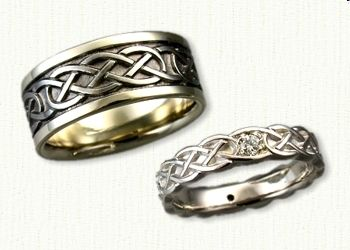 celtic murphy knot wedding rings affordable prices online - Medieval Wedding Rings