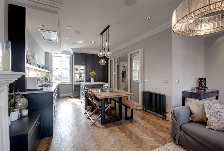 Vent Open Plan Designs (UK) Kitchen - Interior Design Pinterest