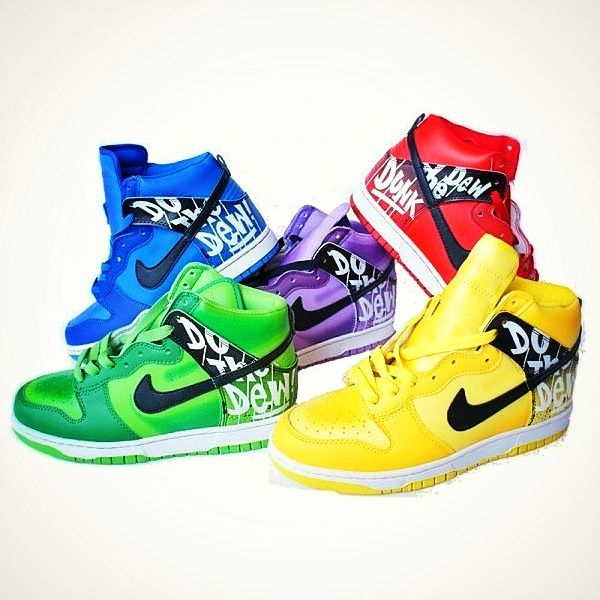 Nike Dunk sb Mountain Dew