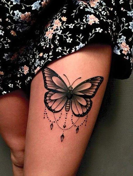 25 Beautiful Butterfly Tattoo Designs