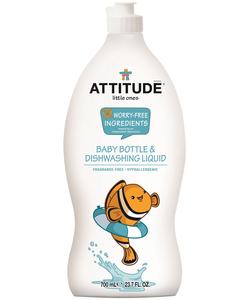 Attitude Little Ones Baby Bottle Dishwashing Liquid Fragrance