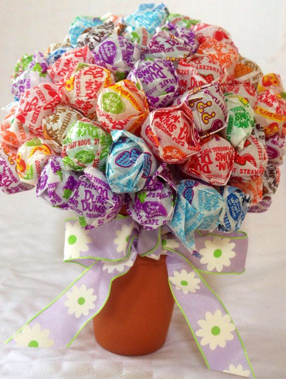 Lollipop bouquet instead of flowers | Crafty Craft Crafts ...