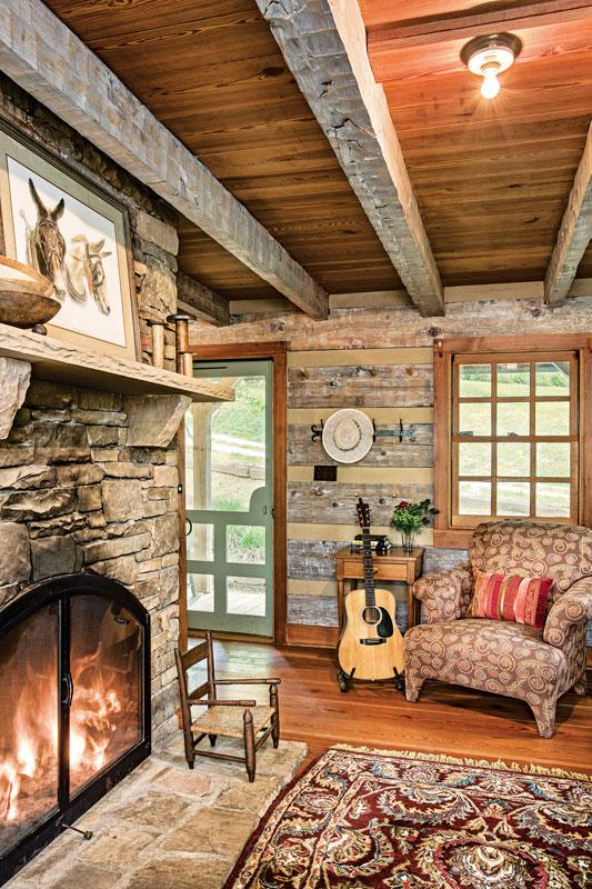 A Cozy Cabin with a Rustic Feel