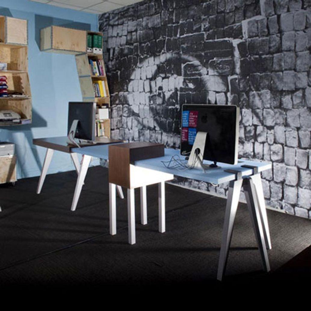 Unique Office Interior Design Ideas BED ART HOME