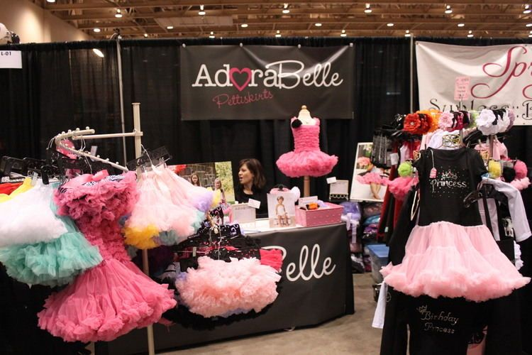 Sweet little tutos by AdoraBelle could be found at the 14th Annual Women's Fair Feb. 17-19.