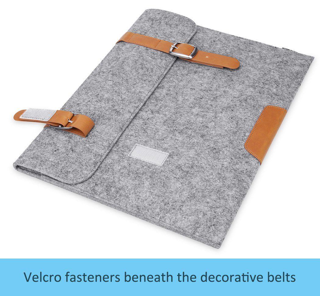 Plemo tissu de feutre housse pour ordinateur portable for Housse ordinateur 11 6 pouces