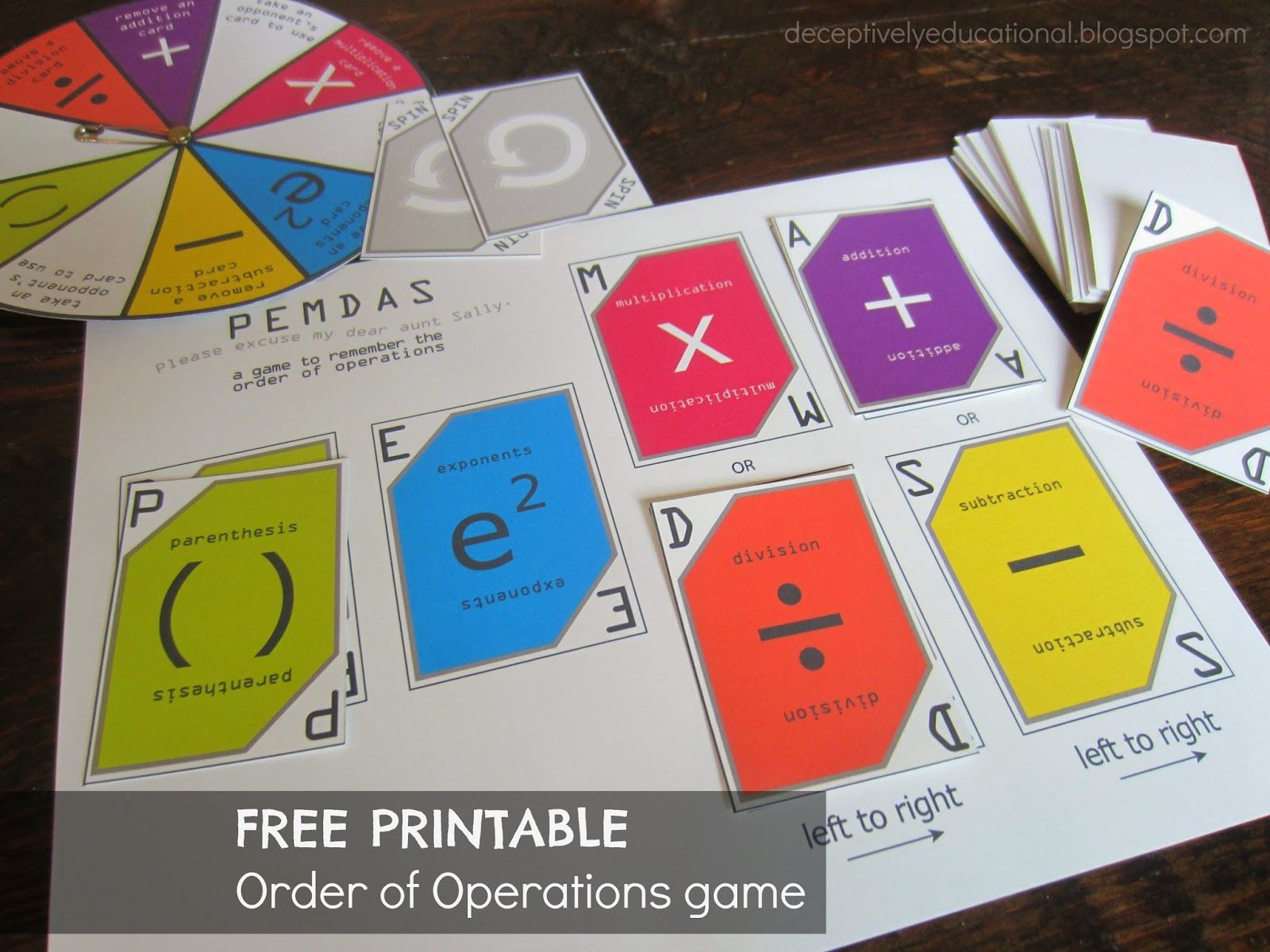Relentlessly Fun Deceptively Educational Order Of