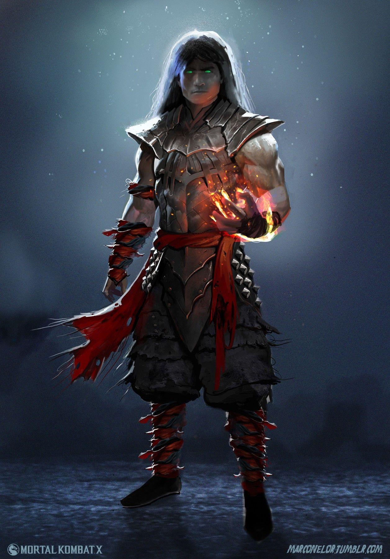 General 1256x1800 Mortal Kombat X Concept Art Digital Art Artwork Video Games Liu Kang Mortal Kombat Characters Mortal Kombat Art Mortal Kombat