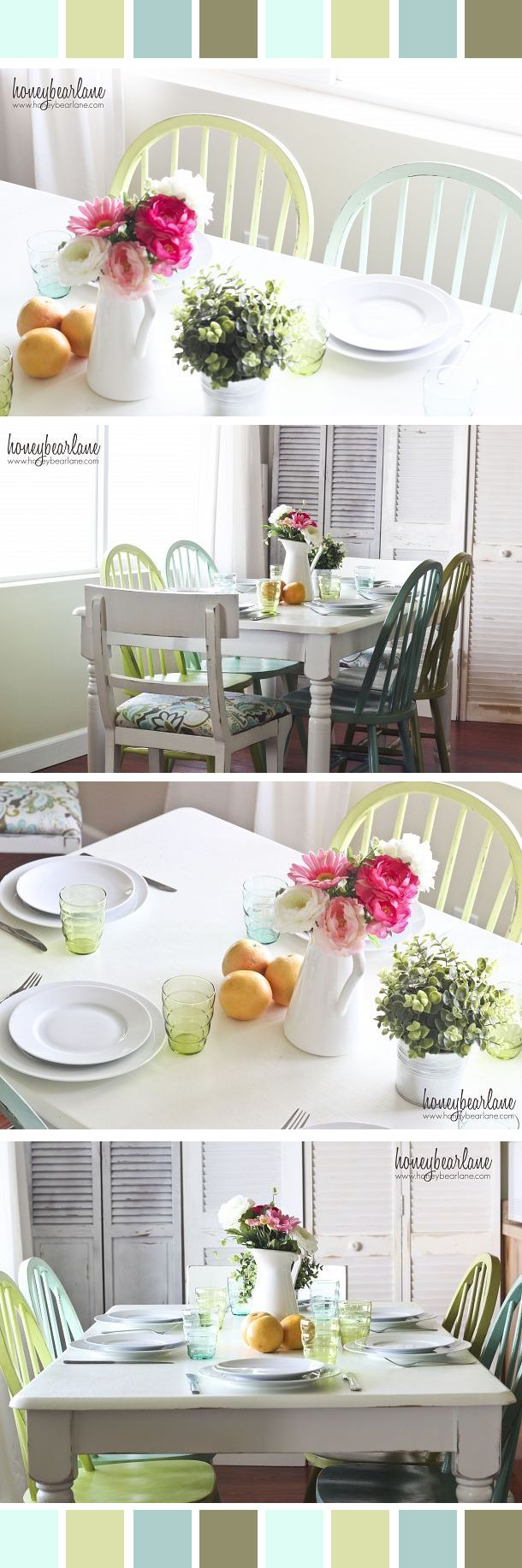 Dining Room Reveal | Mismatched chairs, Room and Kitchens