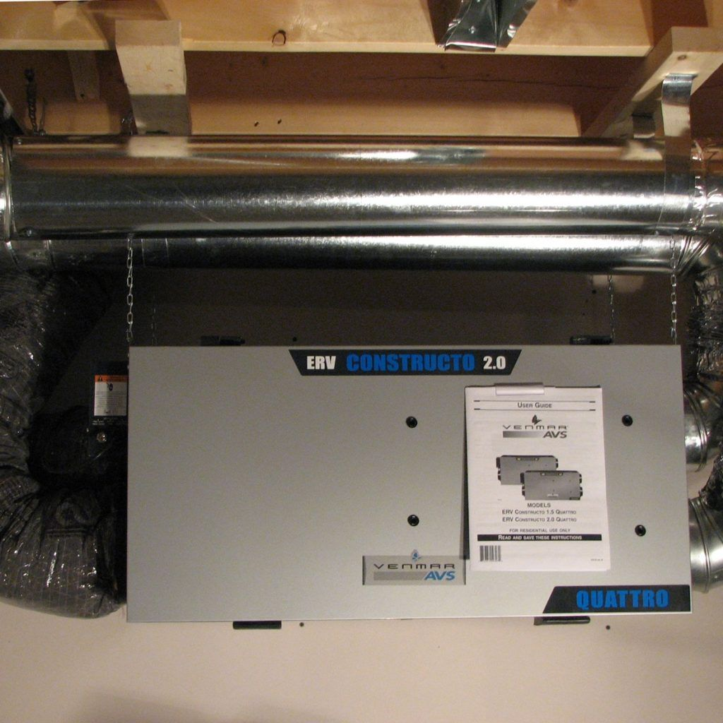 Heat recovery ventilator ebay - Heat Recovery Bathroom Fan Condensation Ventilation
