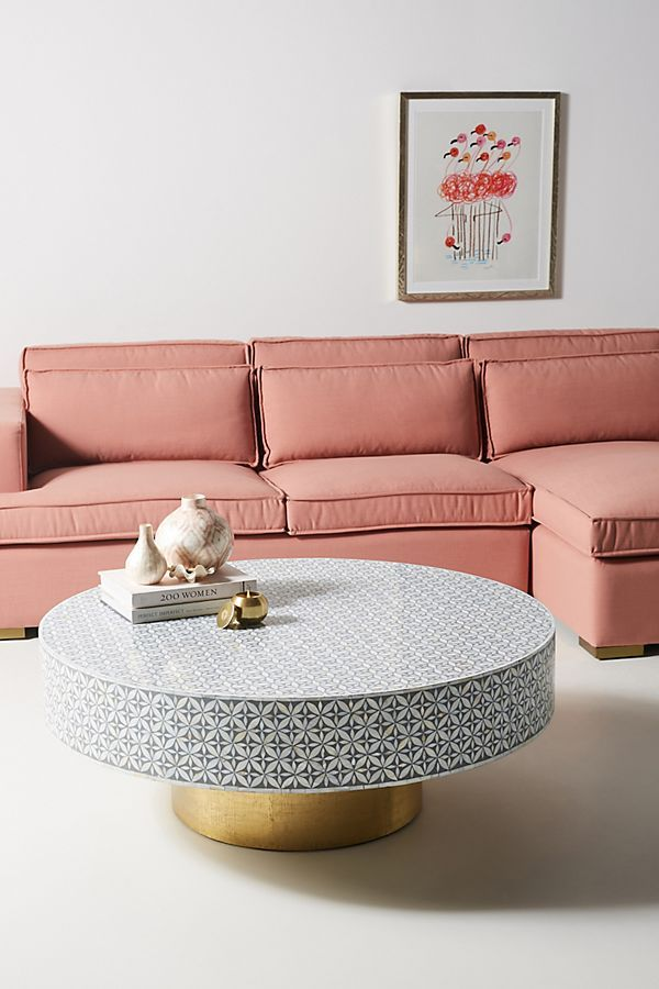 Best Targua Mother Of Pearl Coffee Table By Anthropologie In 400 x 300