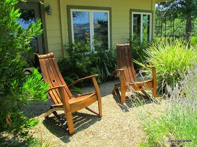 Chairs Made Of Wine Barrel Staves Garden Bloggers Wine