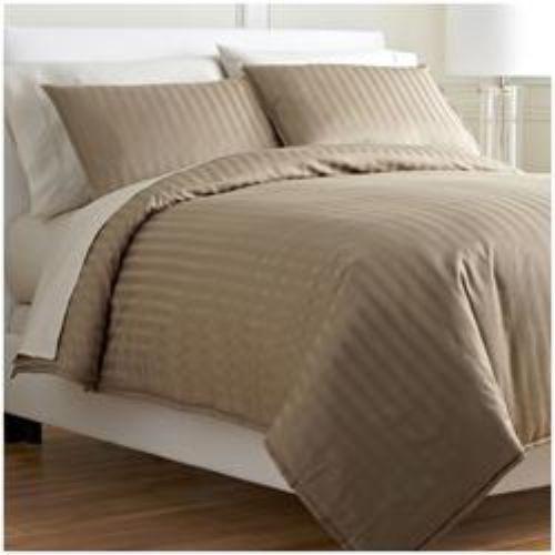 Royal Calico DARK PURPLE 7p Comforter set Damask Stripe 100/% Cotton 350 Thread