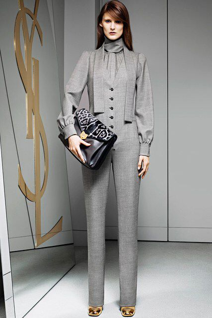 Saint Laurent | Pre-Fall 2012 Collection | Vogue Runway