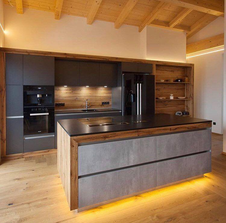 """@hausrausch on Instagram: """"Wenn wir unsere Küche nicht schon geplant und beide in sie verliebt ???? hätten, dann wäre diese geile Küche von @gfrerer_kuechen absolut auf…"""" #wohnungküche"""