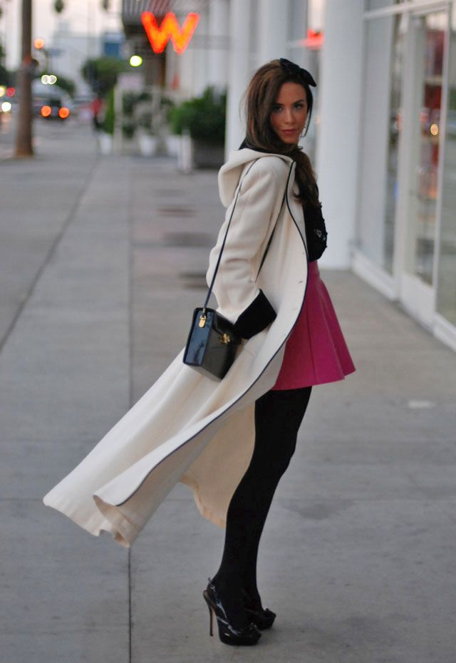 Short Skirt && a Long Jacket | Kier Couture | Pinterest | Coats ...