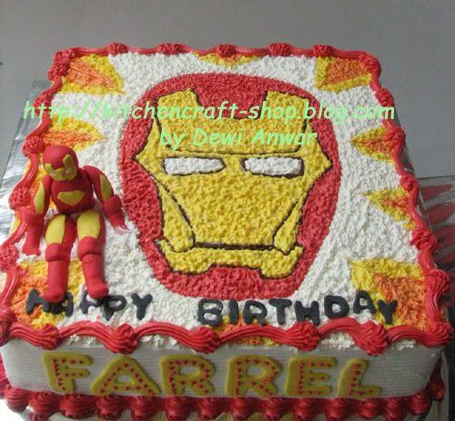 Ironman Cake idea for Edubs cake For My Sisters Pinterest