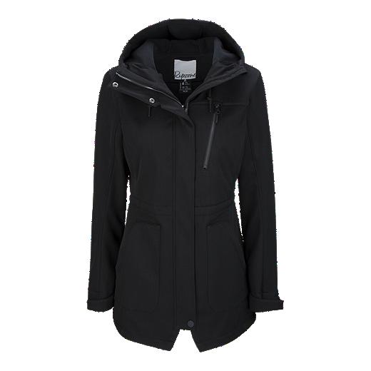 b865dd303 Ripzone Women s Coaster Hooded Softshell Jacket - BLACK