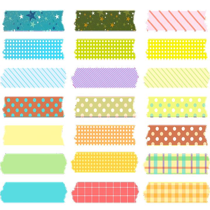 Washi Tape Jepang Gambar Gratis Di Pixabay Perencanaan Seni Buku Stiker Kawaii