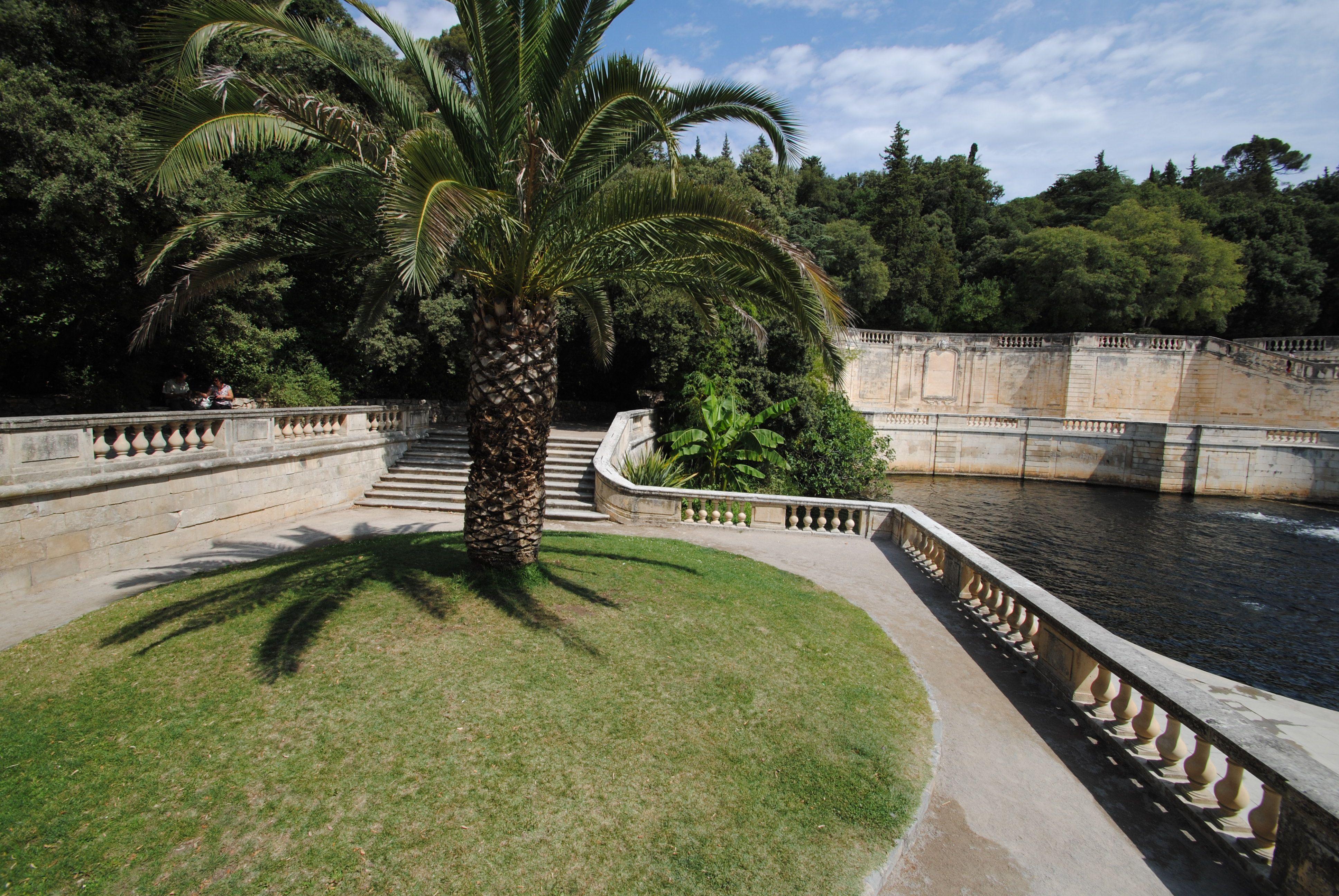 Les Jardins De La Fontaine Nimes Nimes Pinterest Jardins De La