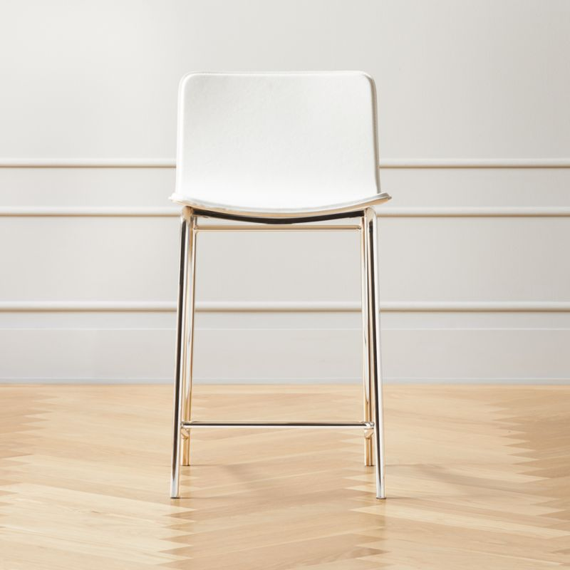 Strut Counter Stool 24 White Reviews In 2020 Counter Stools