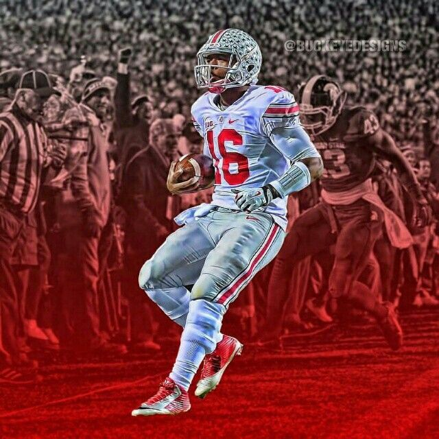 Ohio state blood and scary go buckeyes