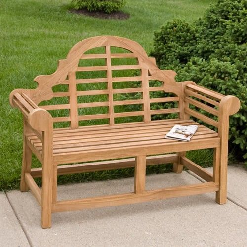 Marlboro Lutyens Teak Bench 4 Ft Or 5 Ft Teak Bench Outdoor Teak Outdoor Furniture Teak Bench