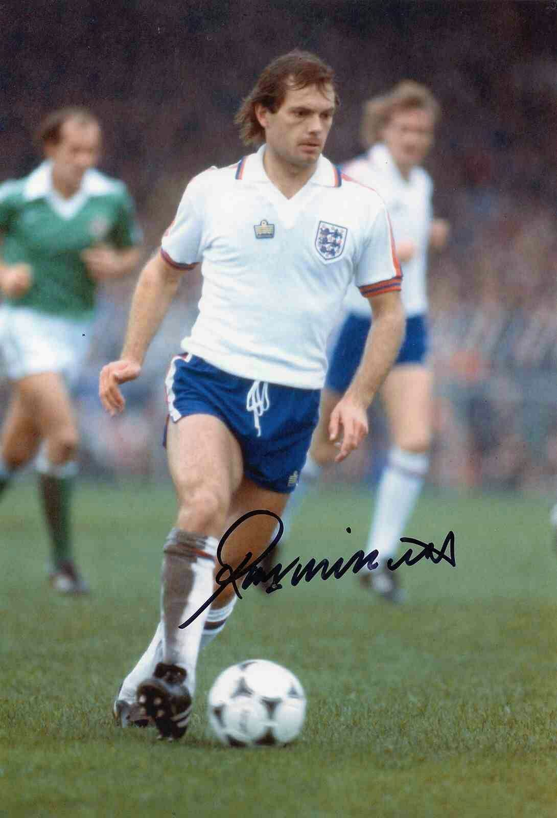 Ray Wilkins Of England In 1979 England Football Team England Football Vintage Football