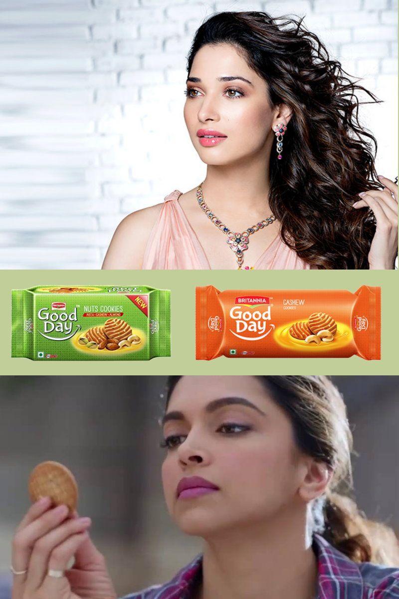 Brand Bhaamalu Tamanna Vs Deepika Whose Biscuit Is It Anyway I Came Across The Following News Of 2016 Tamanna Bhatia H Brand Ambassador Britannia Brand