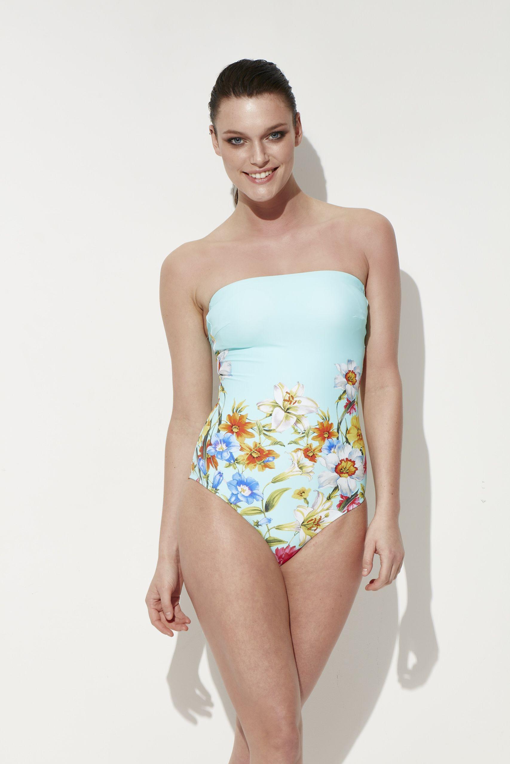 Reflections yeni sezon mayo #mayo #strapless #swimwear #swimsuit #new