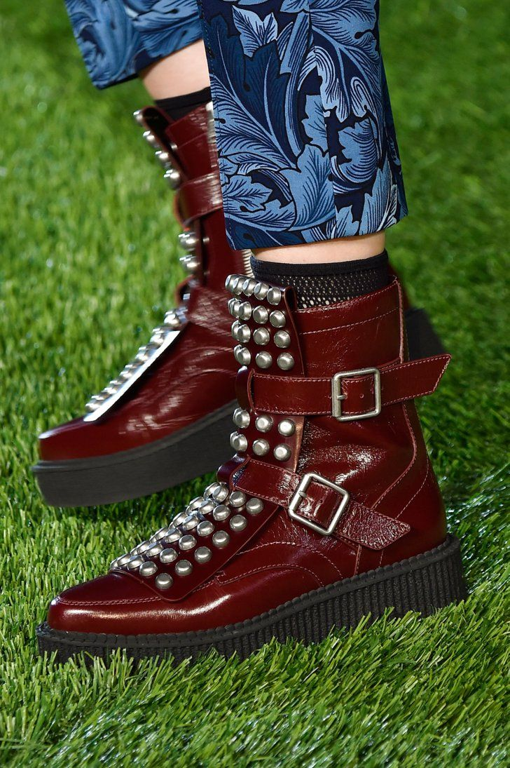 Pin for Later: The Best Shoes to Hit the Runways of New York Fashion Week Marc by Marc Jacobs Fall 2015