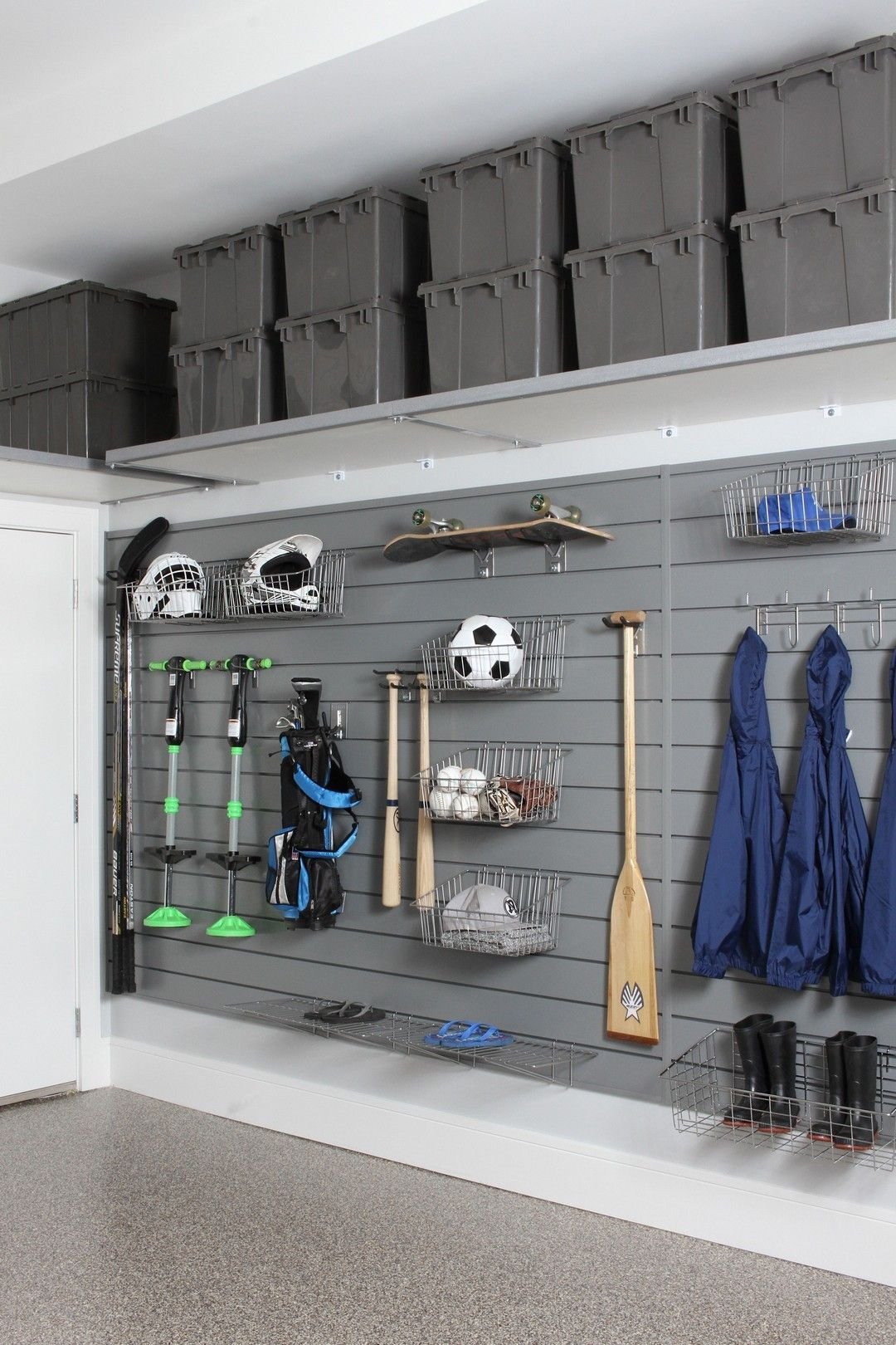 20+ BRIGHT GARAGE STORAGE SOLUTIONS FOR YOUR HOME #storagesolutions
