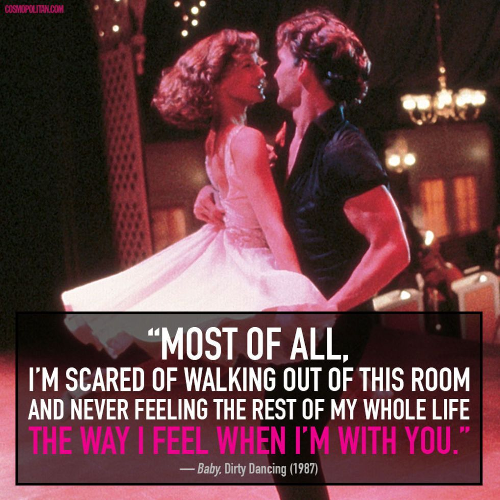 15 Crazy Romantic Quotes From Tv And Movies Movie Love Quotes Romantic Quotes Romantic Movie Quotes