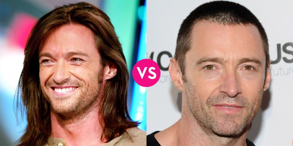 Do These Hot Male Celebs Look Better With Long Hair Or Short Long Vs Short Hair Short Hair Styles Long Hair Styles