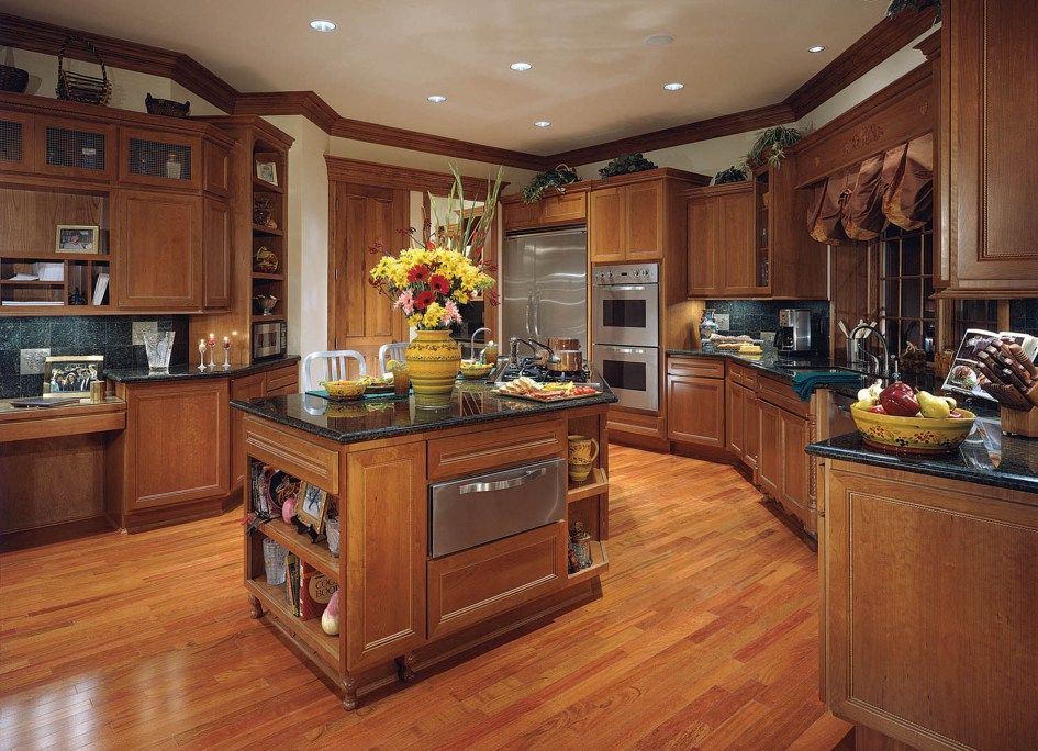 Kitchen, Custom Built Kitchen Cabinets: Installing Custom ...