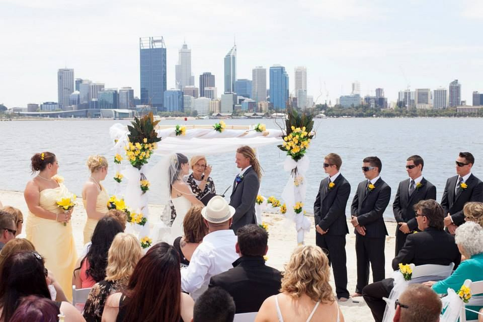 South Perth Foreshore Great Place To Have A Beach Wedding With A Spectacular Backdrop Best Wedding Venues Wedding Ceremony Location