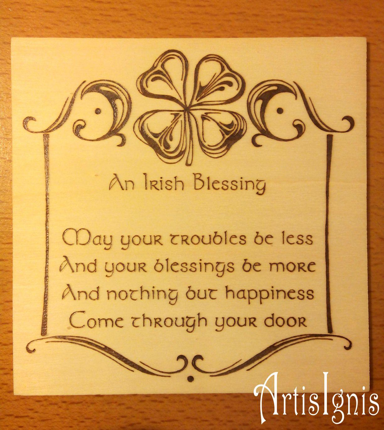 An Irish Blessing\