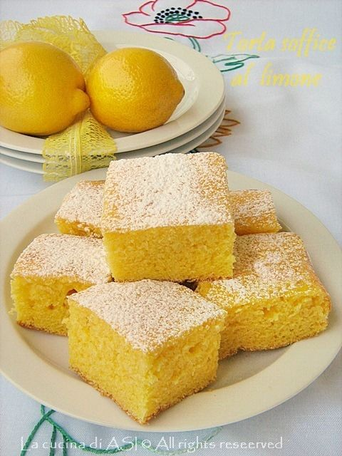 Torta Soffice Al Limone Senza Burro Ricetta Semplice