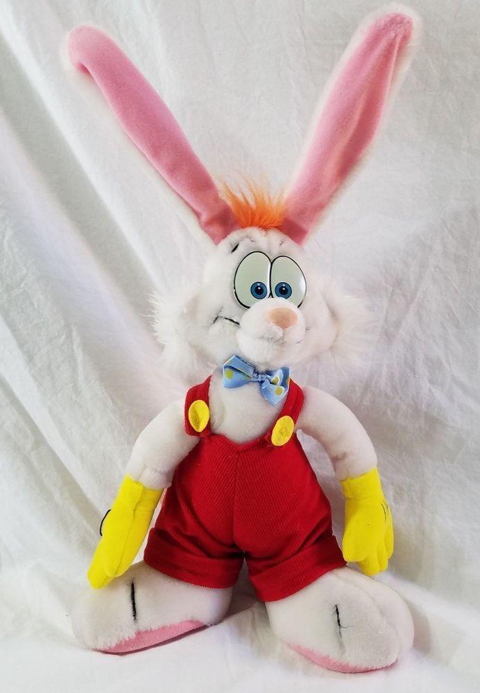 Disneyland Walt Disney World Who Framed Roger Rabbit Plush Stuffed