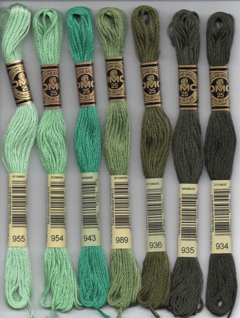 DMC Stranded Cotton Number 934
