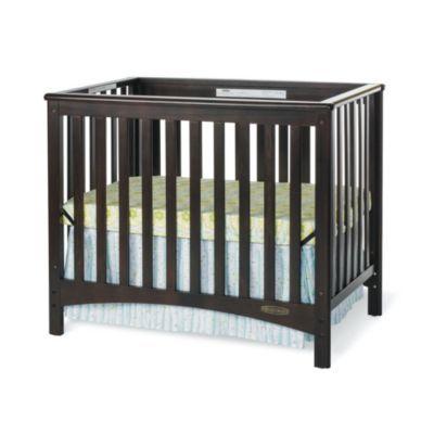 Child Craft London Euro 2 In 1 Mini Crib In Jamocha