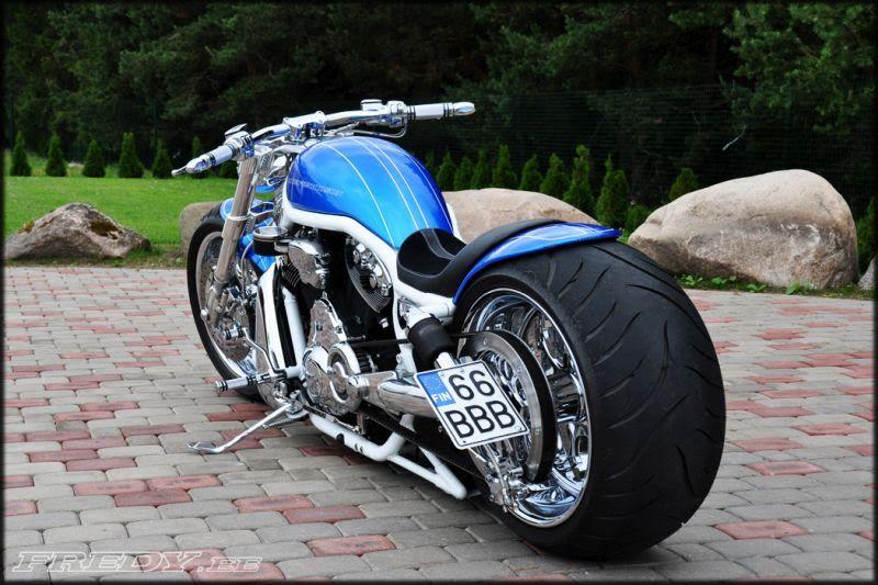 Harley Davidson V Rod Blue By Fredy V Rod Custom Harley Davidson V Rod Custom Motorcycles Harley