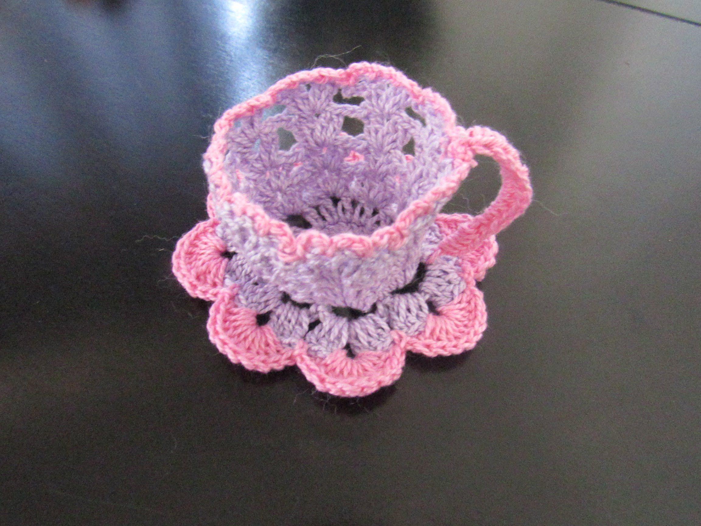 Amigurumi Vivi Free Patterns : Passo a passo xícara de crochê vivi pinterest crochet