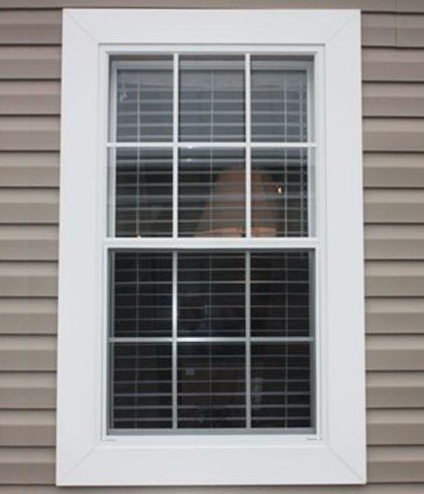 Vinyl Exterior Window Trim : Impressive window exterior trim