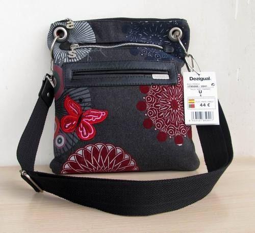New Desigual Erfly Shoulder Bag Handbag Purse 2041 Ebay