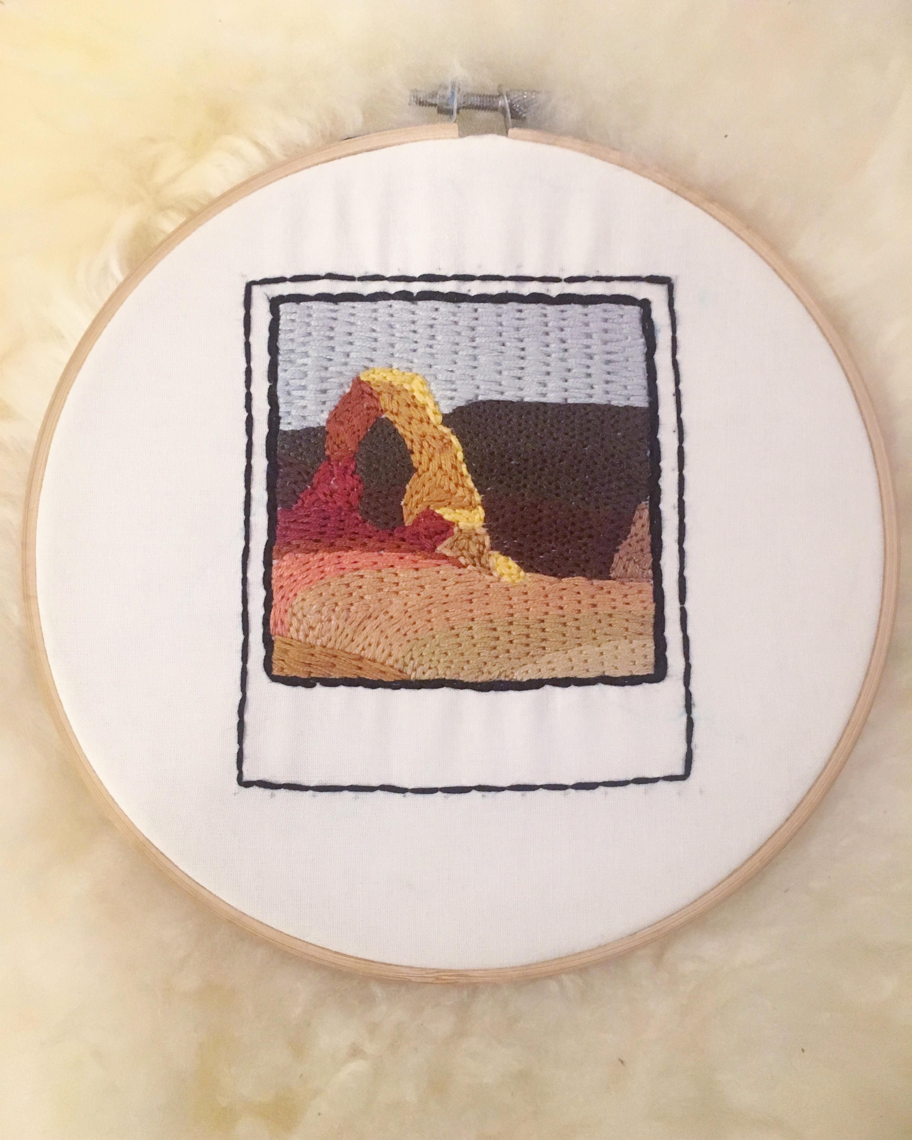 Instant Download PDF Cute Llama Embroidery Pattern video tutorial Modern Embroidery Hoop Art