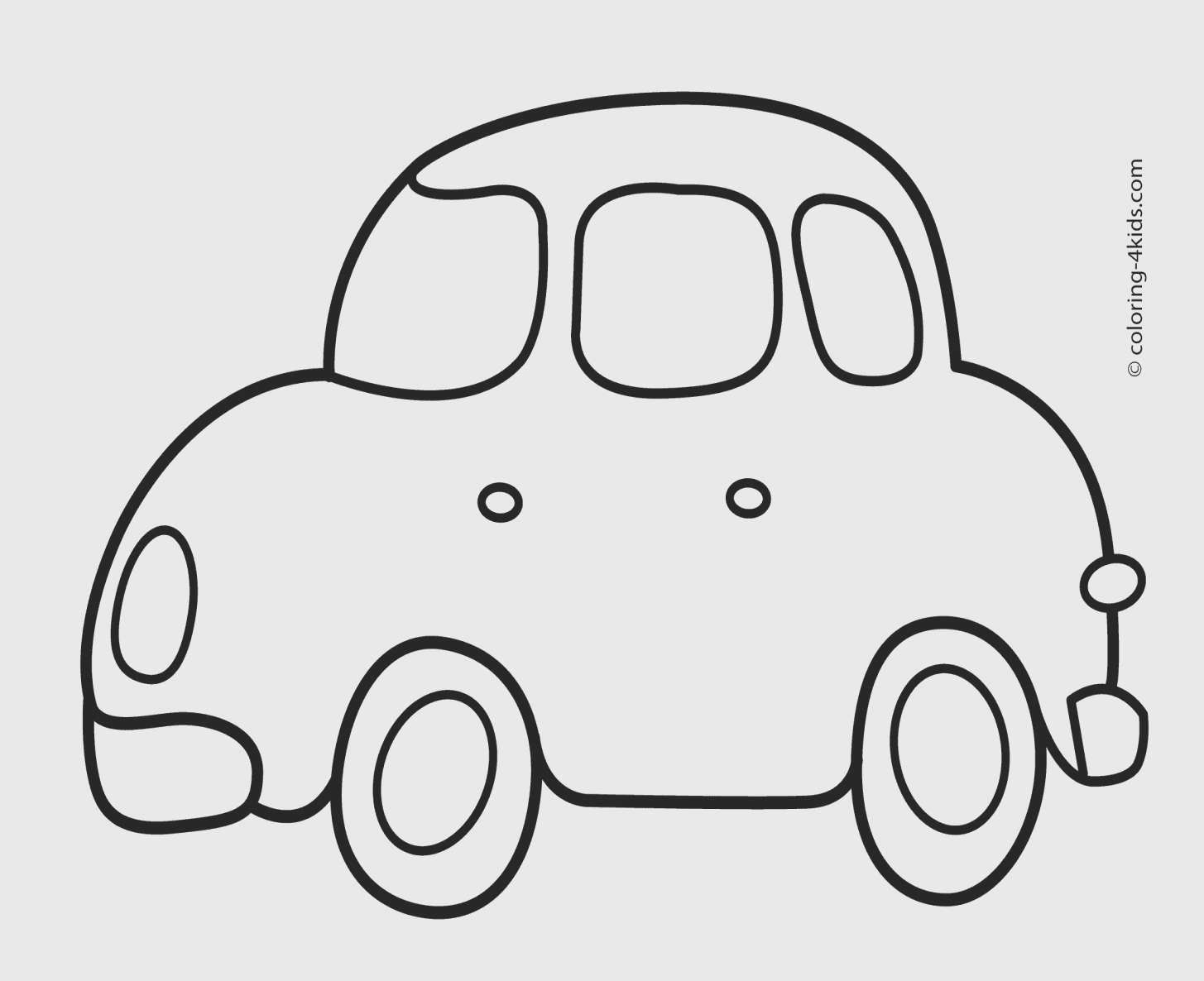 Transportation Coloring Pages For Preschool In 2020 Easy